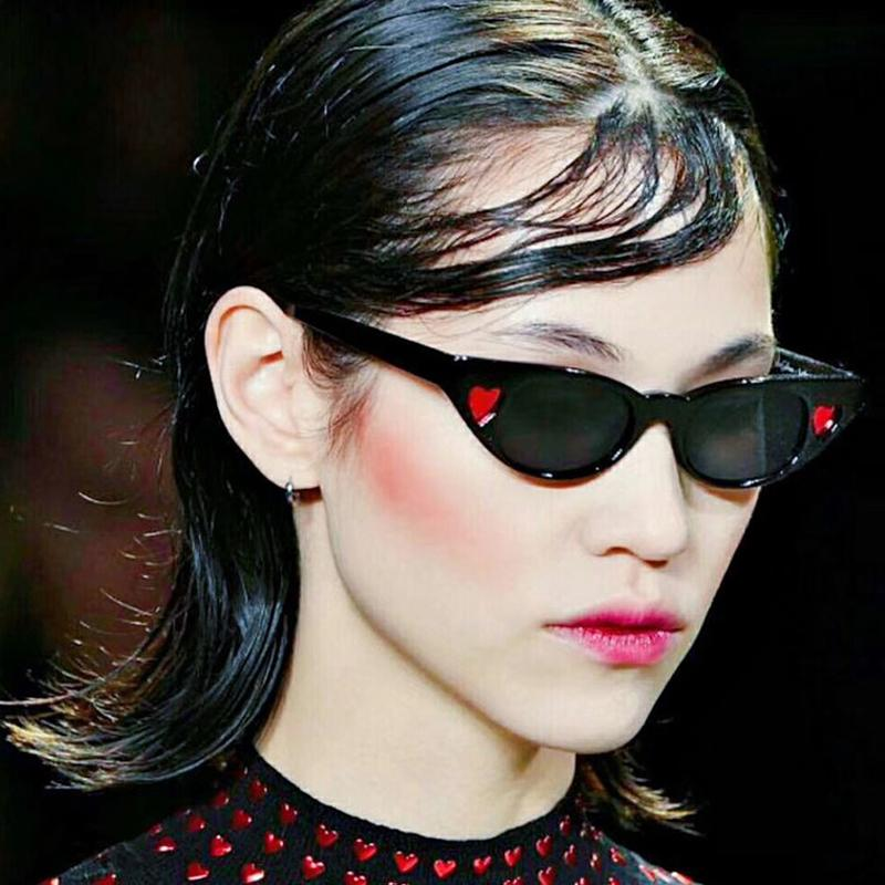 ce67d46c2d HJYBBSN 2019 Luxury Love Cat Eye Sunglasses Women Plastic Candies Vintage  Glasses Beat Outdoor UV400 Sun Glasses For Women Cheap Eyeglasses Online ...