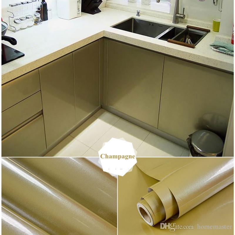 Modern PVC Vinyl Contact Paper for Kitchen Cabinets Self adhesive Wallpaper  Door Furniture Stickers Bathroom Kitchen Wall Paper