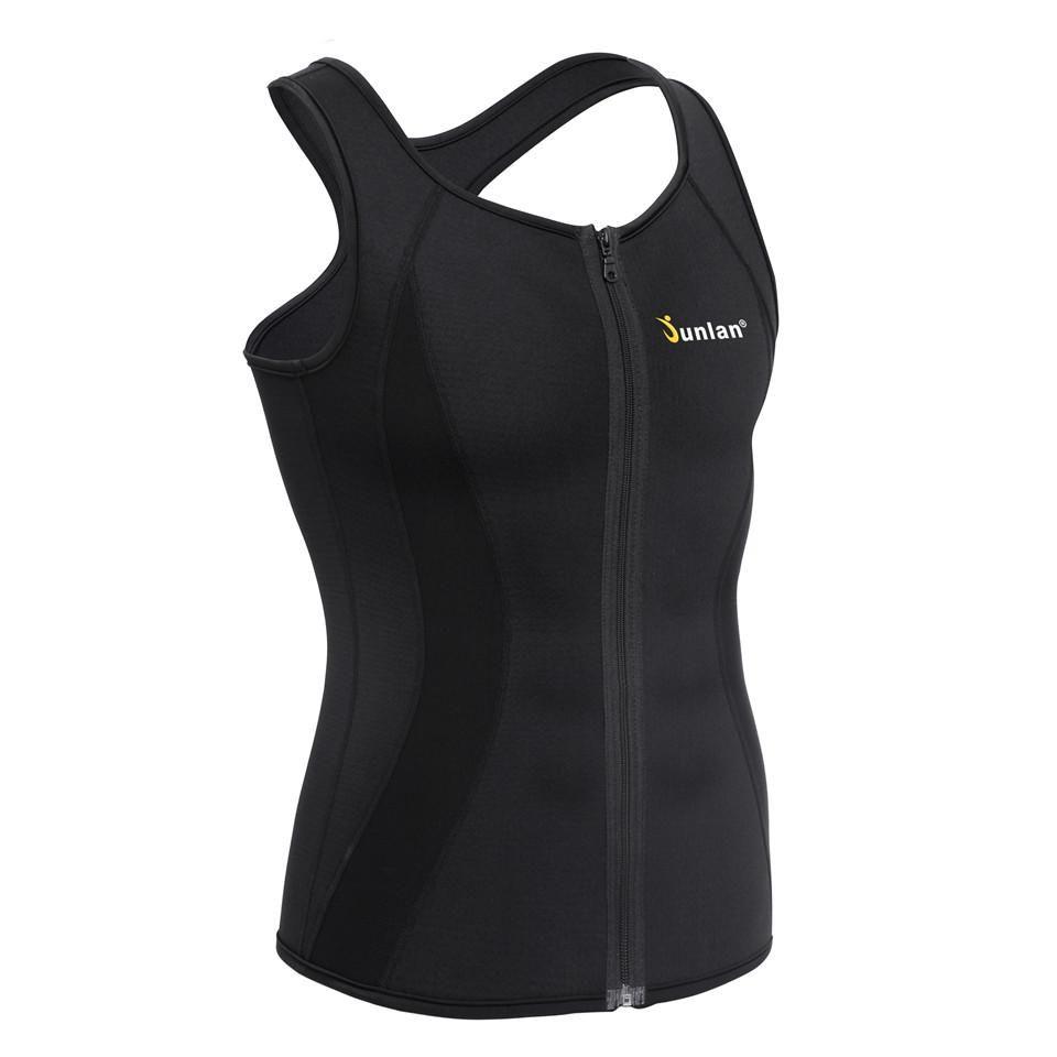 2bc422c8047 2019 Junlan Men Sauna Vest Neoprene Slim Waist Trainer Male Body Control  Bodysuit For Workout Weight Loss Corset Shapewear Strap From Openran