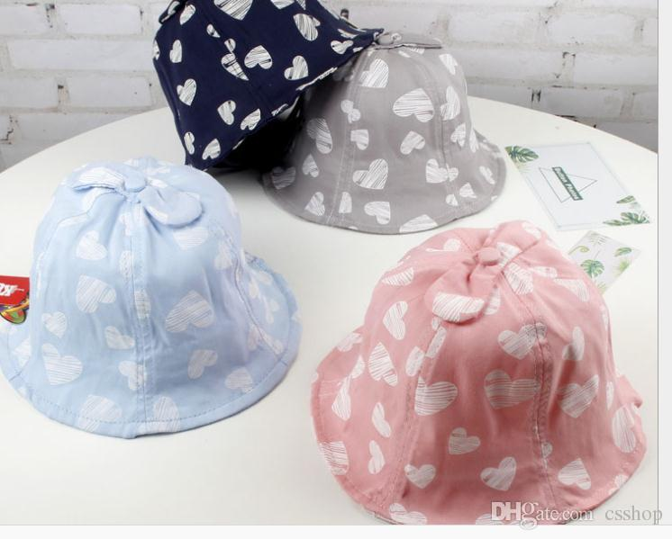 Children S Hats New Love Fisherman S Hats For Boys And Girls Out Sunscreen  Sunhat Fashion Children S Recreational Pot Hats Tide Fascinator Hats Tilley  Hat ... 366147f831f