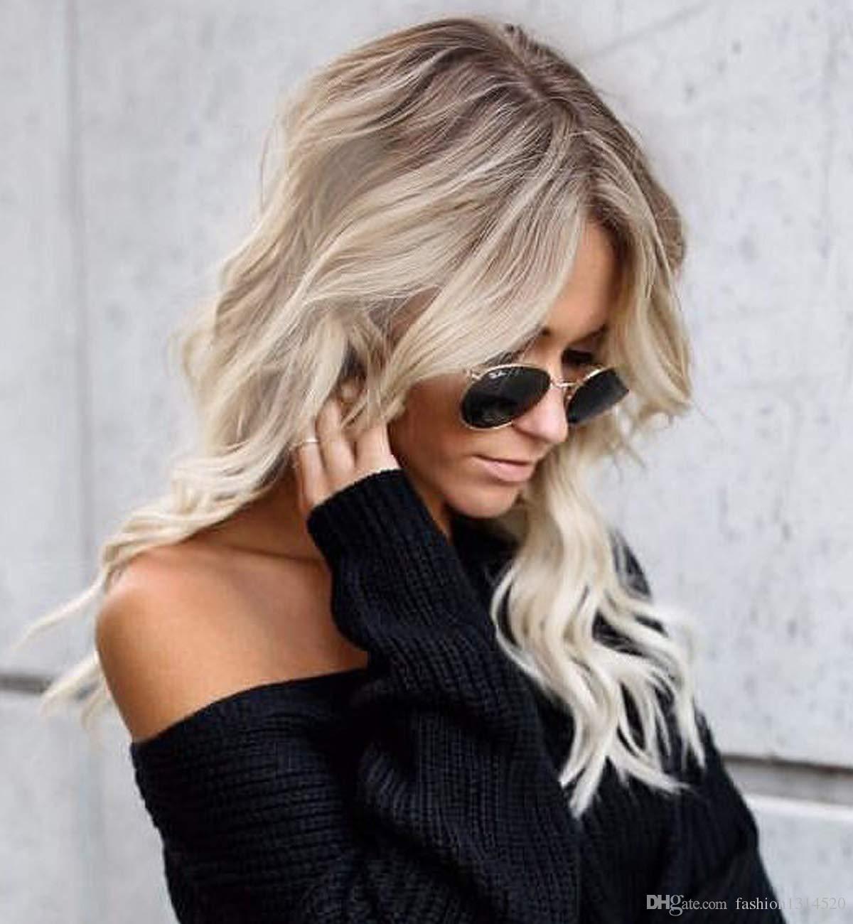 Haarfarbe Braun Blond Balayage Balayage Braun Grau 2019