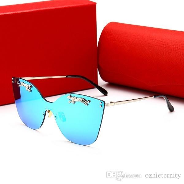 3429dd27db Compre 00112 Lujo Mujeres Diseñador Gafas De Sol Brillante Chip ...