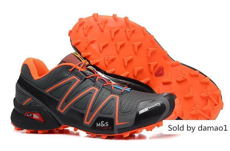 salomon speedcross 3 cs men's trail running shoes kit