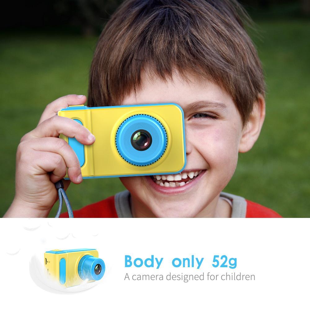 Mini Digital Kids Camera 2 Inch Cartoon Cute Camera Toys Children