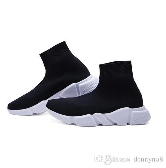 2018 personnalité de mode élastique chaussures décontractées hommes et femmes avec le même couple chaussures légères