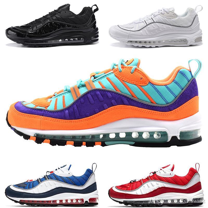 16af7d2f4e1 Designer 98 98s Running Shoes For Men Cone Gundam Triple Black White UK  Racer Blue Red Run Casual Sport Trainer Sneaker Size 40 46 Best Running  Shoes ...