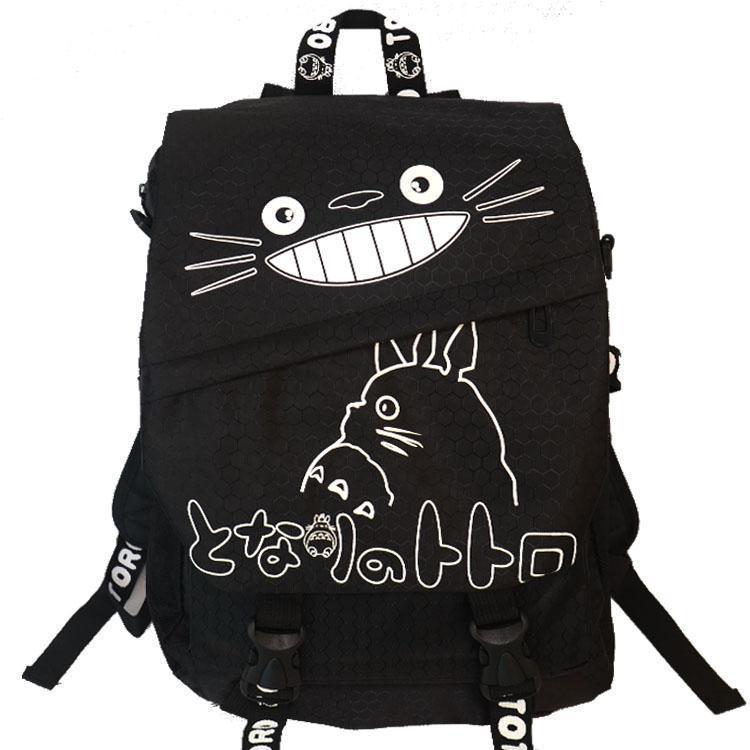 7851e763bc ... TOTORO Cartoon Backpack Canvas Shoulders School Bag Children Schoolbags  Men Women Bookbag Printing Backpack Backpacks For Men Jansport Big Student  ...