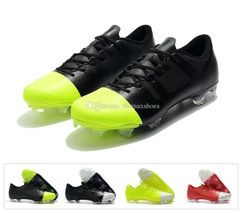 pretty nice 377ad 9d033 Hot Mercurial Superfly Gs 360 Gs Fg Green Speed Greenspeed Low Ankle Cr7  Mens Soccer Shoes Football Boots Cleats Size 39-45