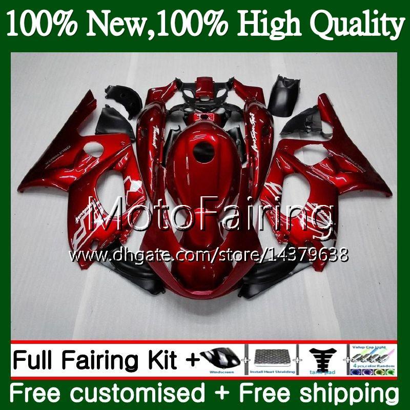 Cuerpo para YAMAHA YZF600R Thundercat 96 97 98 99 00 01 86MF7 metal rojo nuevo YZF-600R YZF 600R 1996 1997 1998 1999 2000 2001 Carenado Carrocería