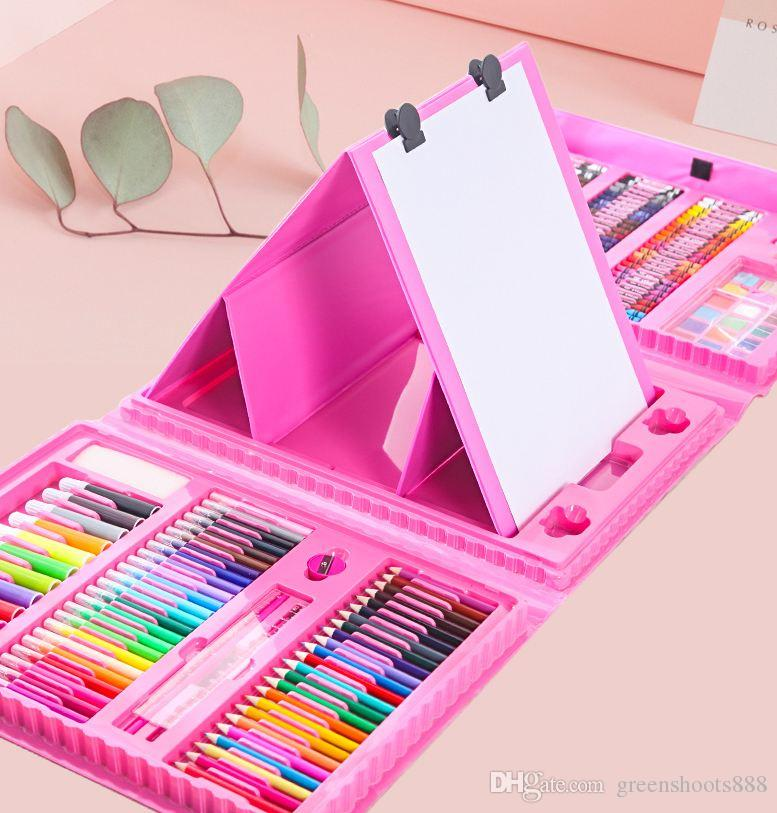 Childrens Toys Birthday Girls 3 4 5 6 8 Years Old Wisdom Princess Primary School Students Make Friends Painting Board Brushes Colorfu