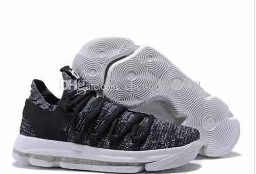 a5f7c85ee15c KD 10 X Oreo Bird Of Para Shoes For High Quality Kevin Durant 10s Bounce  Airs Cushion Sports Sneakers Size 36 45 Slip On Shoes Formal Shoes From ...