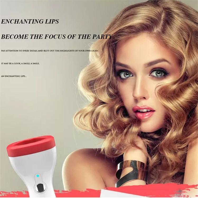 Lip Plumper Enhancer Эргономичный дизайн Портативный ручной Размер Sexy Полный Lip Plumper Электрический Thicker Lip Plumping всасывания Инструмент