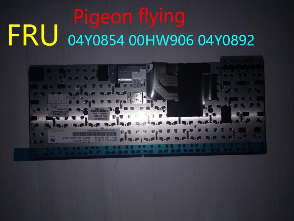 Apply toThinkpad T450 T450S L450 T431S keyboard USA FRU 04Y0854 00HW906  04Y0892 Original 100%test