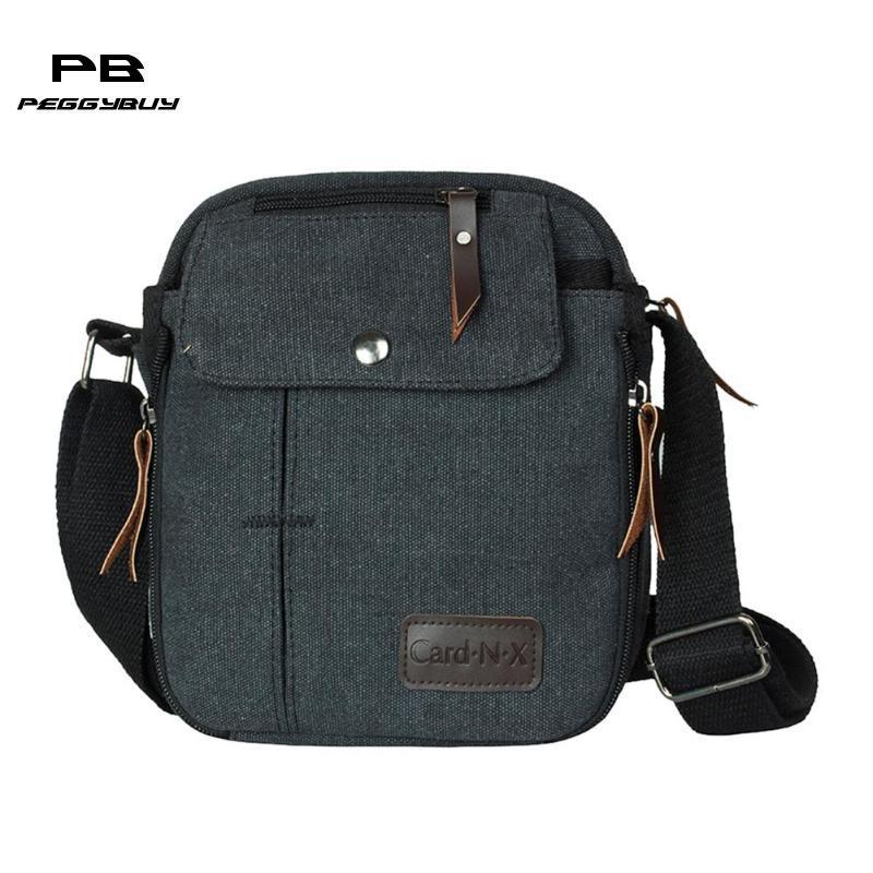 bb08aec9c37f Hotsale men's travel bags cool Canvas bag fashion men messenger bags high  quality brand bolsa masculina purse and handbags New
