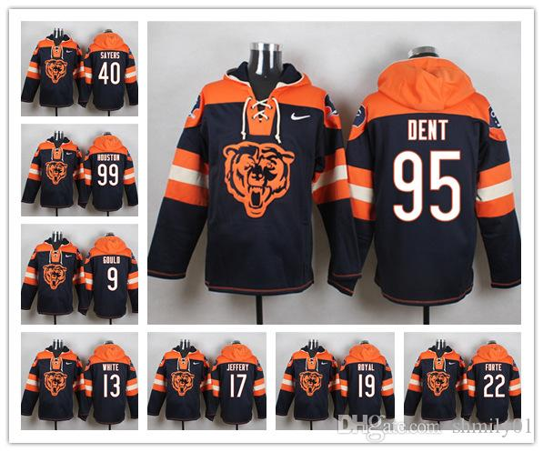 b60c05646f0 Chicago Sweatshirt Bears Crucial Catch Performance Pullover Football Hoodie  52 Khalil Mack 58 Roquan Smith 12 Robinson II Suits Best Suits From  Shmily01, ...