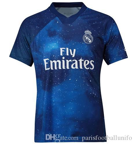 quality design a9166 9dd17 New 2019 Real Madrid 4th EA Sports Soccer Jerseys 18/19 Home MODRIC MARCELO  2018 3rd VINICIUS JR KROOS ISCO ASENSIO BALE Football Shirts