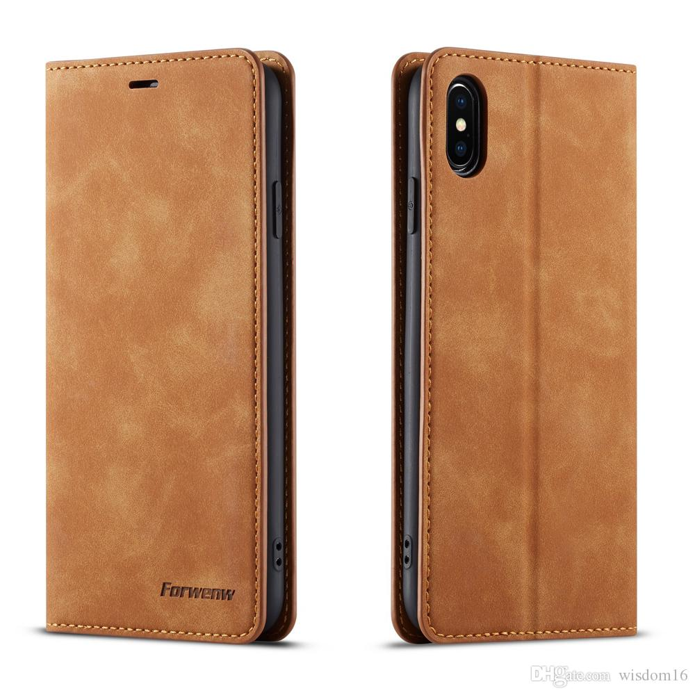 Para iphone x xs xr xs max case capa pu couro carteira de luxo capa para iphone 6 s 7 8 plus pu leather case