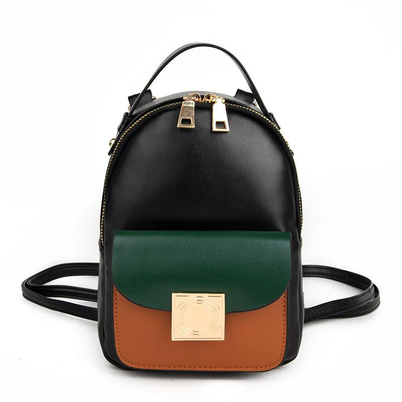 2019 Fashion New Female Bag College Wind High Quality Pu Leather Women  Backpack Korean Mini Backpack Design Shoulder Bags Girl Backpacks Bags From  ... 668cc16c54703