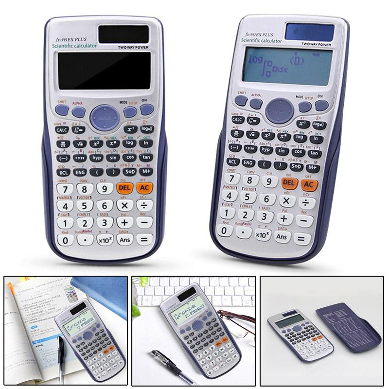 2019 Scientific Calculator Advanced 417 Full Functions For A