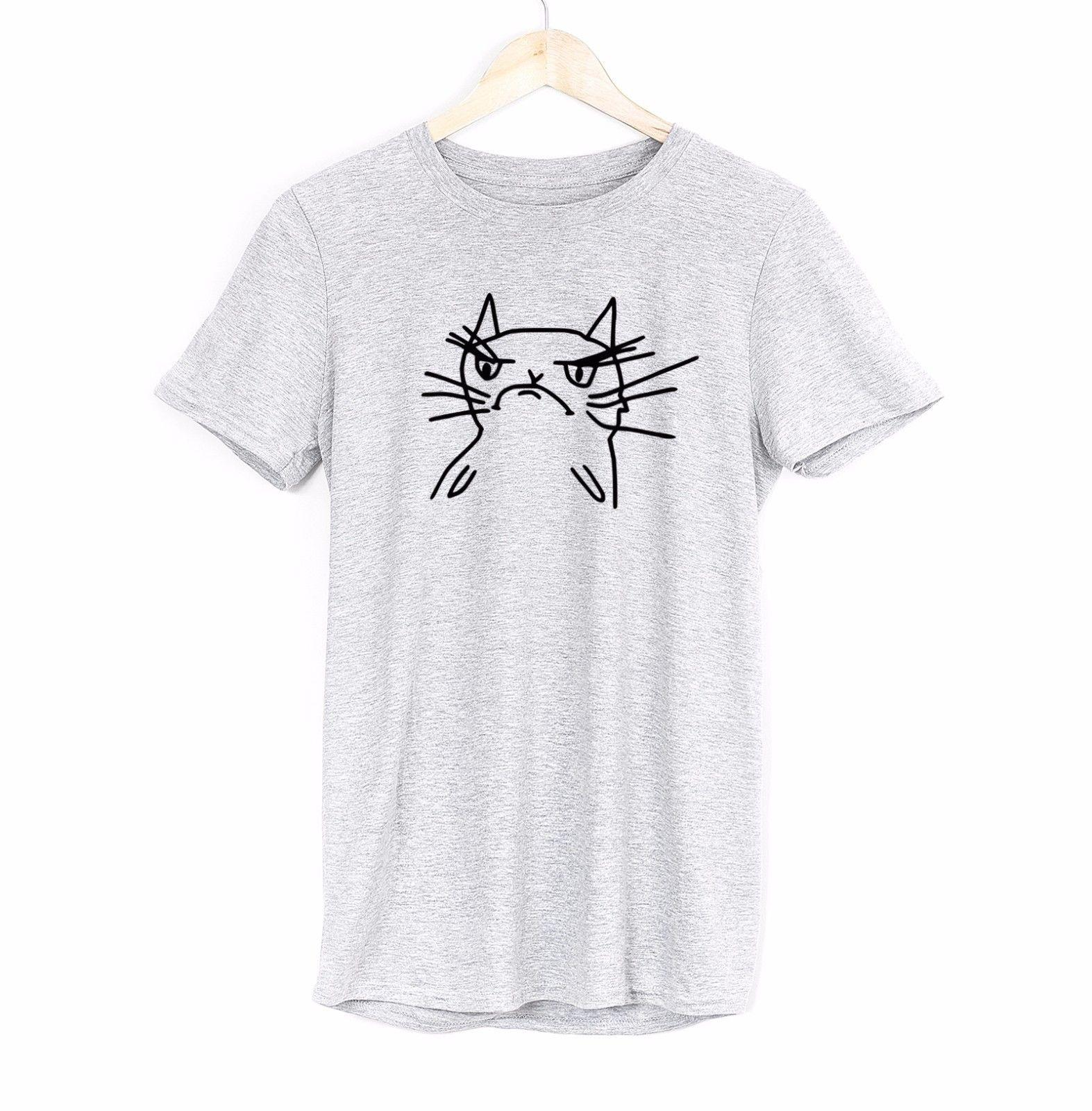 ae1f5326 Angry Cat Funny Mens T Shirt Funny Fun Humor Joke Quote Husband Brother  Gift Funny Unisex Casual Tshirt Online Tshirt Shopping Artistic T Shirts  From ...