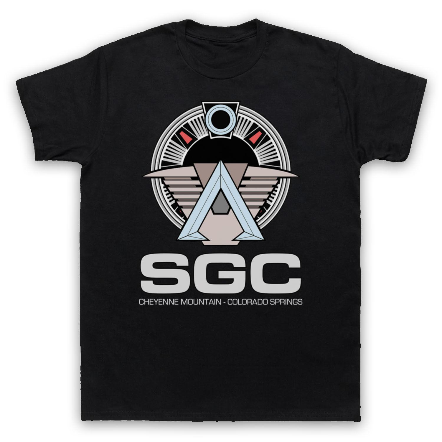 bc665975033 SGC STARGATE UNOFFICIAL STAR GATE COMMAND T SHIRT MENS LADIES KIDS SIZES    COLS Funny Unisex Casual Tshirt Top T Shirt Every Day Funny Cool Shirts  From ...