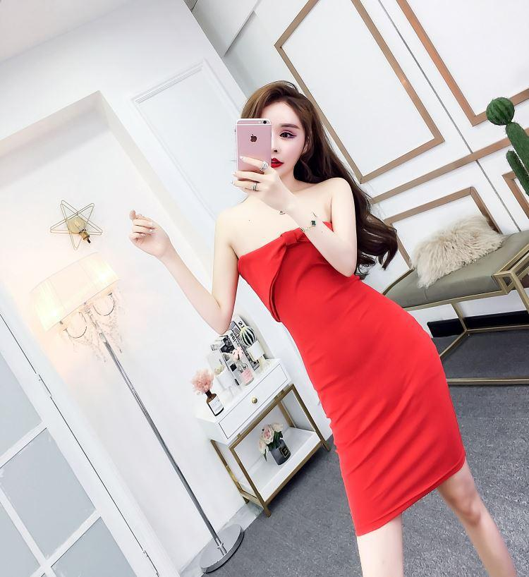 b2a841aed06f5d Summer 2019 Korean Sexy Women Clothing Evening Party Dresses ...