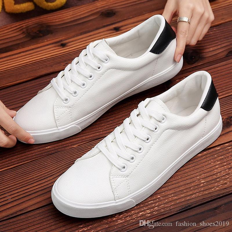 117e87a42c151 Men Casual Shoes Fashion New White Sneakers Men Shoes Comfort Chunky Sneakers  Male Adult Footwear Youth Platform Trainers #368540 Sneakers Online Deck  Shoes ...