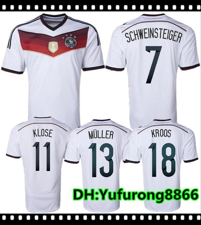 GERMANY 2006 FIFA WORLD CUP SCHWEINSTEIGER 7 HOME JERSEY