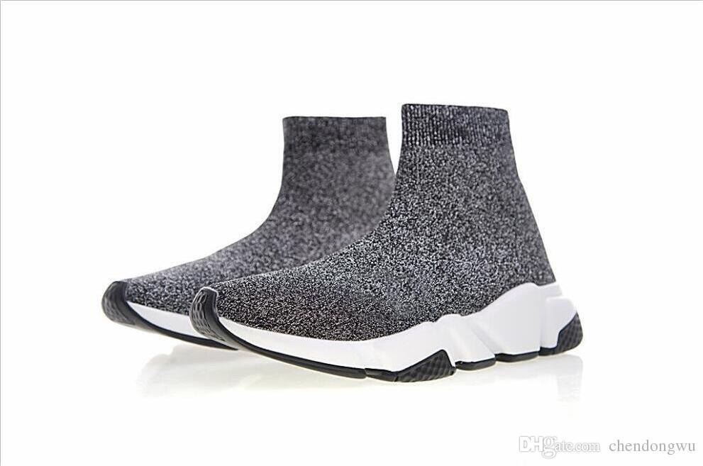 a97d4b314b863 2019 Top Quality Unisex Designer Shoes Fashion Luxury Socks Boots ...