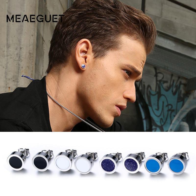 339466d62 Stud Earrings Meaeguet Trending Style Men Stud Earrings Small Round ...