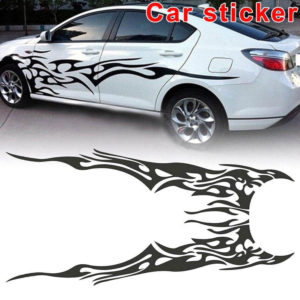 2019 car decal vinyl graphics two side stickers body decals sticker black pattern dxy88 from yaritsi 24 88 dhgate com