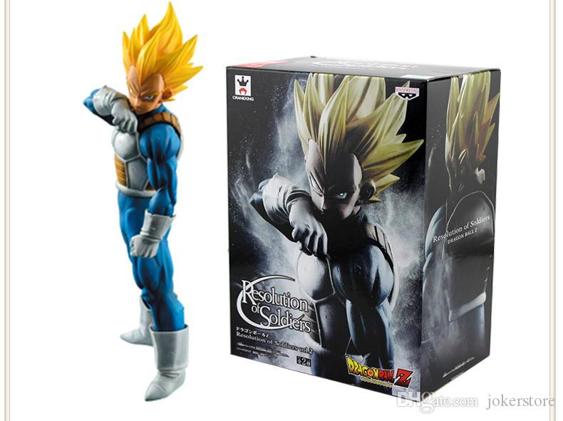 2019 Dragon Ball Z Vegeta 56 Anime Figures Action Christmas Gifts Toys Birthdays Doll New Arrvial Hot Sale PVC From Jokerstore