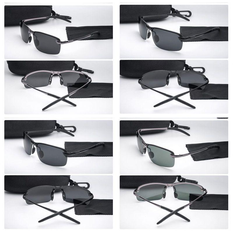 e198b99038 Hombre Sol Polarizada De Para Gafas Luz Cuadrada yvP8mNn0wO