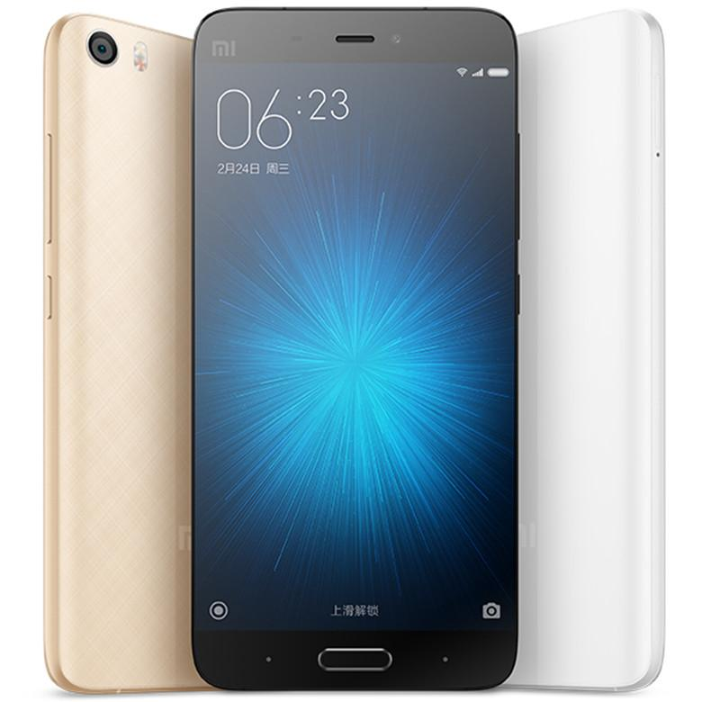 Quad core 4G network Ram 3GB Rom 32/64GBGB unlocked original xiaomi 5 smart phone 5.15 inch cell phone Android