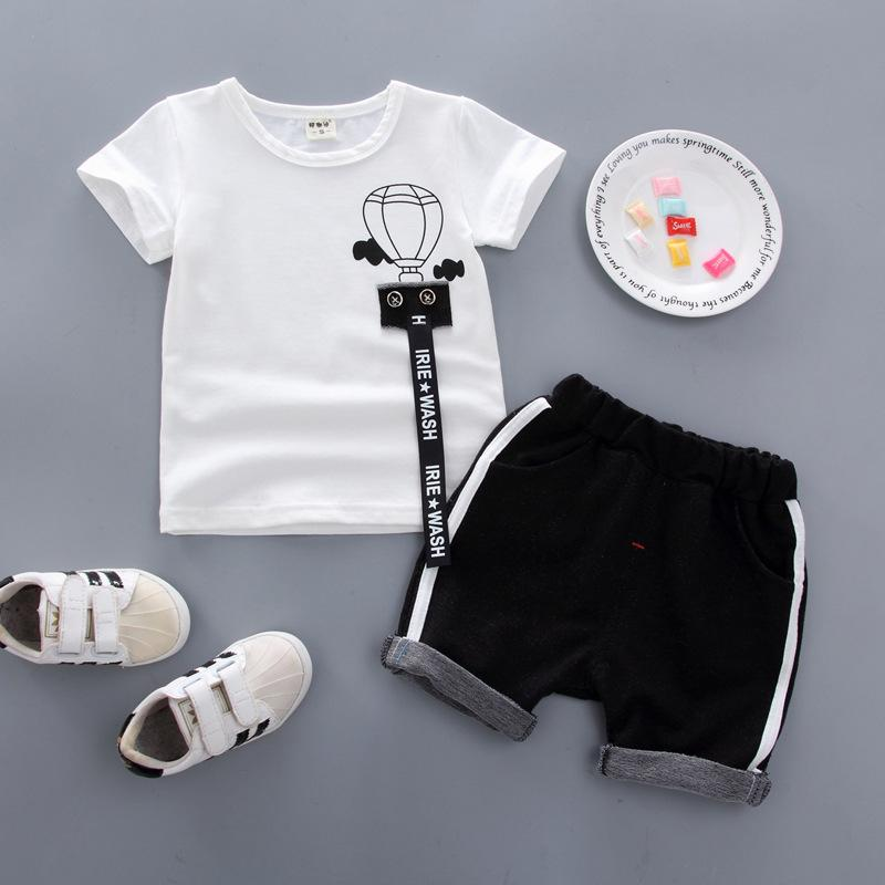 c4ba4e4b93ed 2019 2019 Summer Baby Boy Clothes Sets Fashion Suit T Shirt + Pants Suit  Boys Outside Wear Sports Clothing Sets From Yosicil01