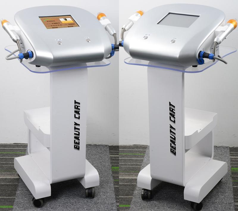 새로운 디자인 4 팁 분수 기계 마이크로 바늘 분수 RF 마이크로 니들 분수 RF 스킨 케어 아름다움 기계