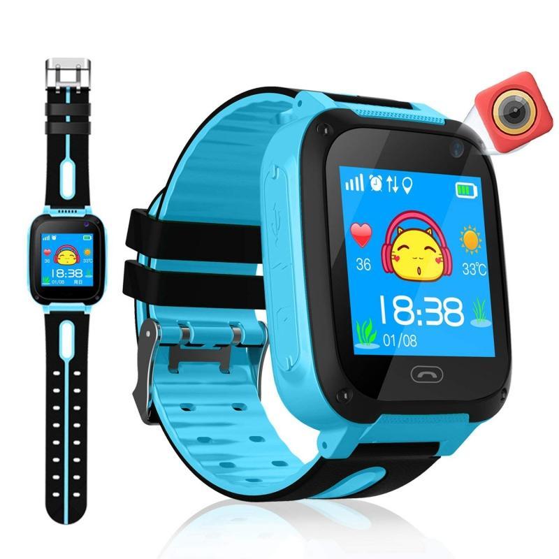 2019 Smart Watch Micro SIM Card Call GPS Tracker Child