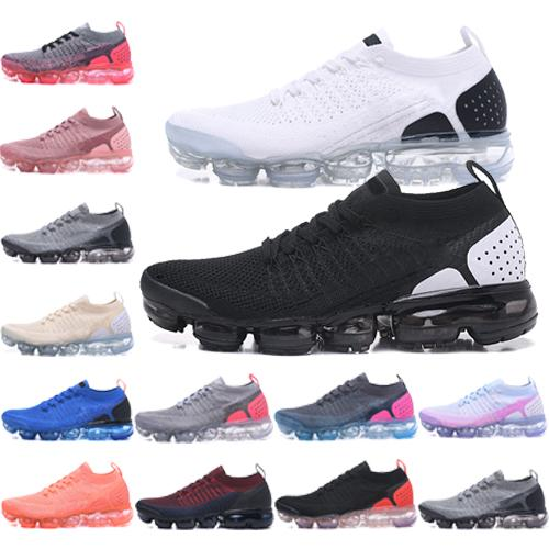 2019 mejor 2018 hombres Diseñador de moda zapatos de lujo Air Running Trainer fly Sports plus knit mens Wave Runner women Sneakers1564833596830
