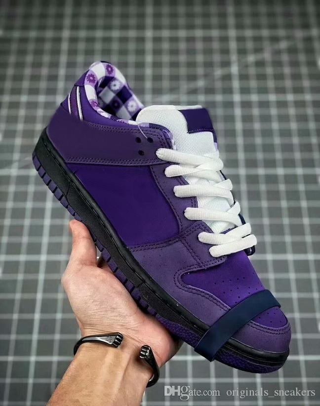 new product 919de c435b Wholesale Designer Concepts X Sb Dunk Low Kyrie Blue Purple Lobster Running Shoes  Dunks Women Mens Trainers Zoom Athletic Sneakers Running Shoes Men From ...