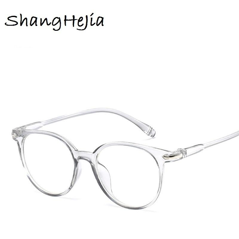 ccb27a60911d2 2018 Fashion Women Men Eyeglasses Vintage Round Clear Lens Glasses Optical  Spectacle Frame C18122501 Electric Sunglasses Fastrack Sunglasses From  Shen84