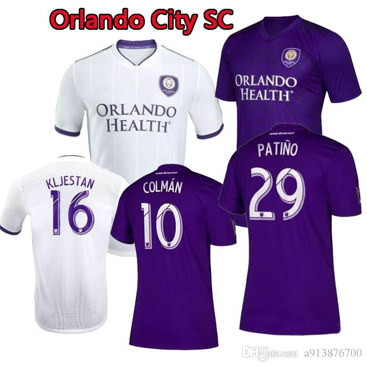0c299afb5d9 2019 New 2019 2020 MLS Orlando City Soccer Jersey KAKA Thai Quality HOME  Away DWYER COLMAN J. MENDEZ NANI MUELLER SPECTOR Orlando Football Shirt  From ...