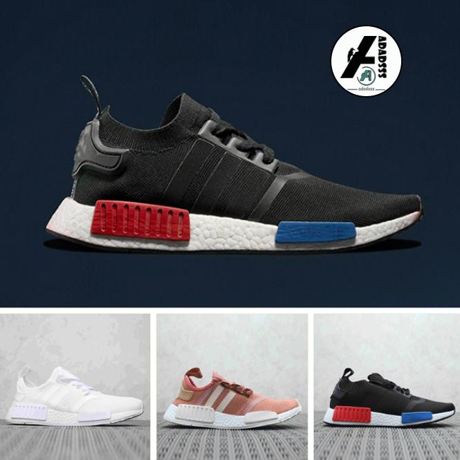 Adidas NMD XR1 Runner NBHD Primeknit Olimpiadi Running Shoes Triple Black White Camo Scarpe Uomo Donne NMD Runners XR1 sport calza il formato 36-45 corsa Casual shoes
