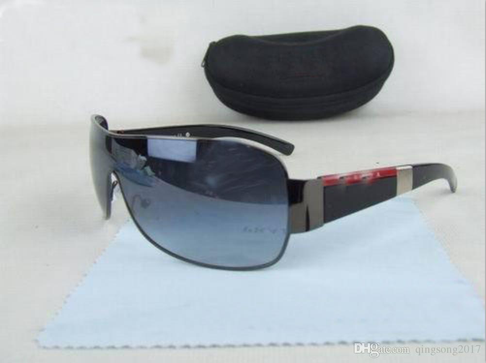 Compre 2019 Hot Vender Prada Frete Grátis Mens Óculos De Sol EyeGlasses  Lente Espetáculo Com Caixa d90ef0f652