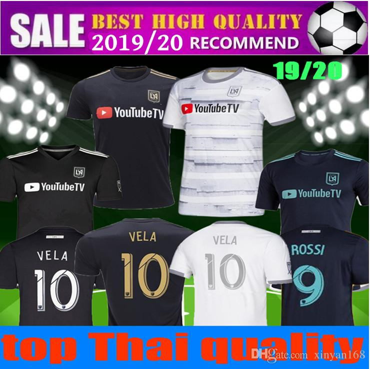 official photos 7a6a4 46f6f men women 19 20 x Parley la Los Angeles fc LAFC VELA soccer Jerseys 2019  2020 ZIMMERMAN GABER ROSSI CIMAN girl FOOTBALL SHIRTS