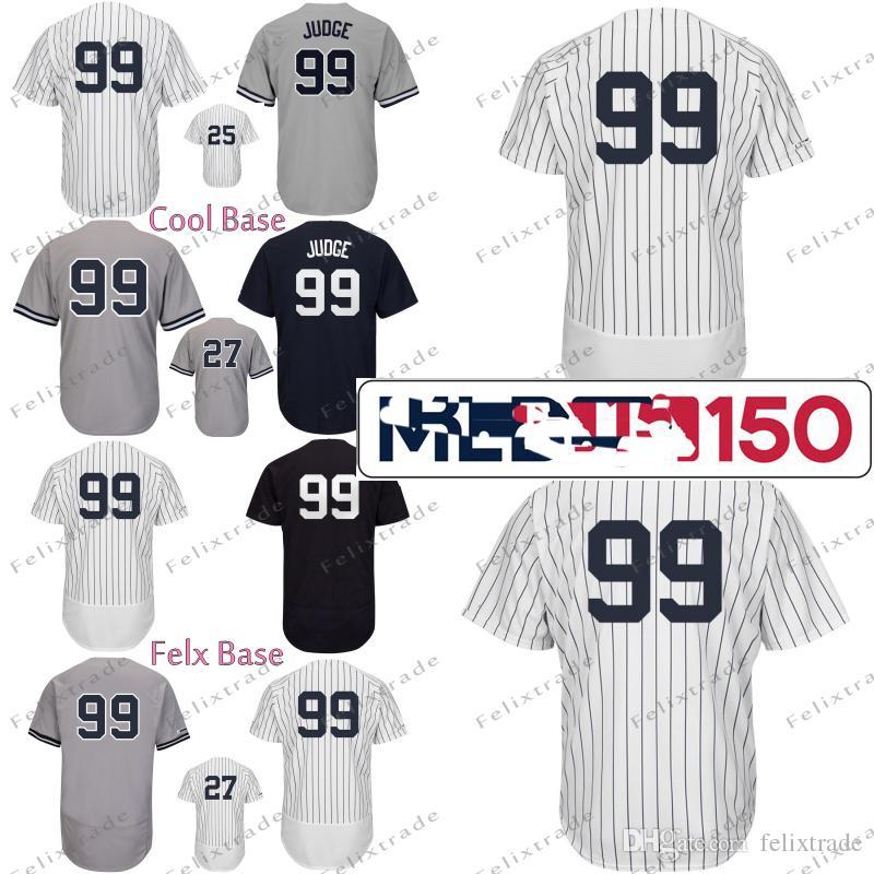 the latest d6946 c4d26 150th Luke Voit Aaron Judge New York Jersey Yankees Gleyber Torres  Giancarlo Stanton Didi Gregorius Brett Gardner Gary Sanchez DJ LeMahieu