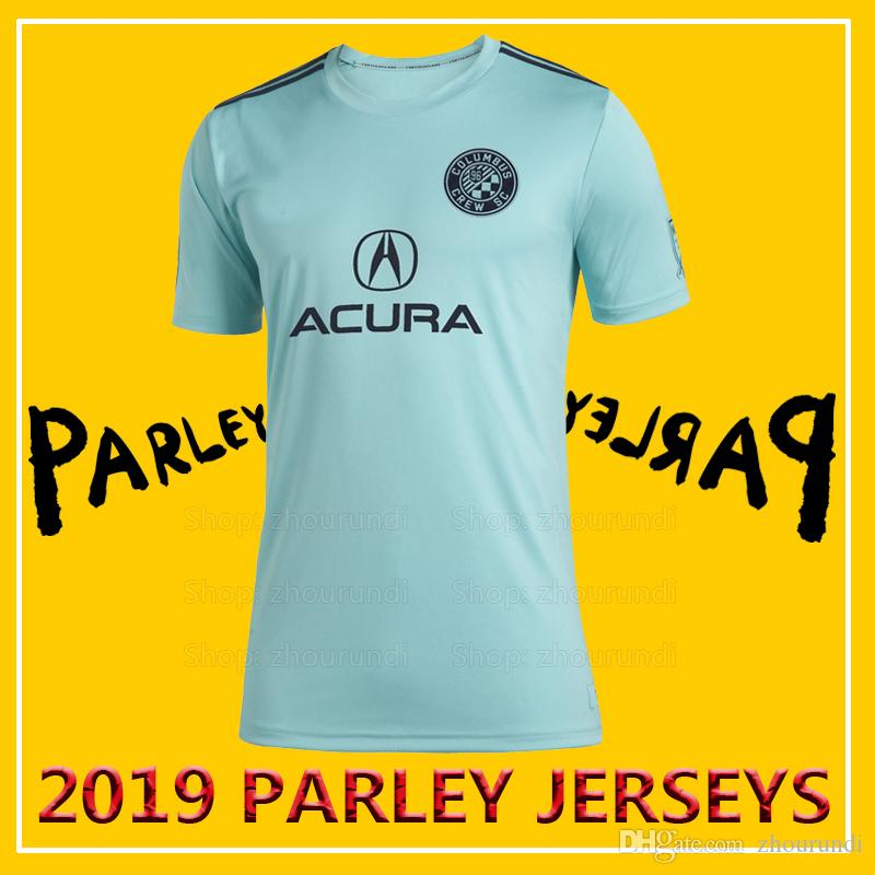 547915793d0 2019 2019 Columbus Parley Soccer Jerseys Oceans Parley Jersey 2019 20  Columbus X MLS X Parley Eco Friendly Jerseys Spirit Football Jersey XXS 4XL  From ...