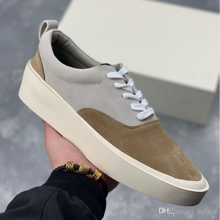 New Fashion Men Luxury Brand Designer Shoes Flat Low-cut Silk Suede ... 223f1cebd7f2
