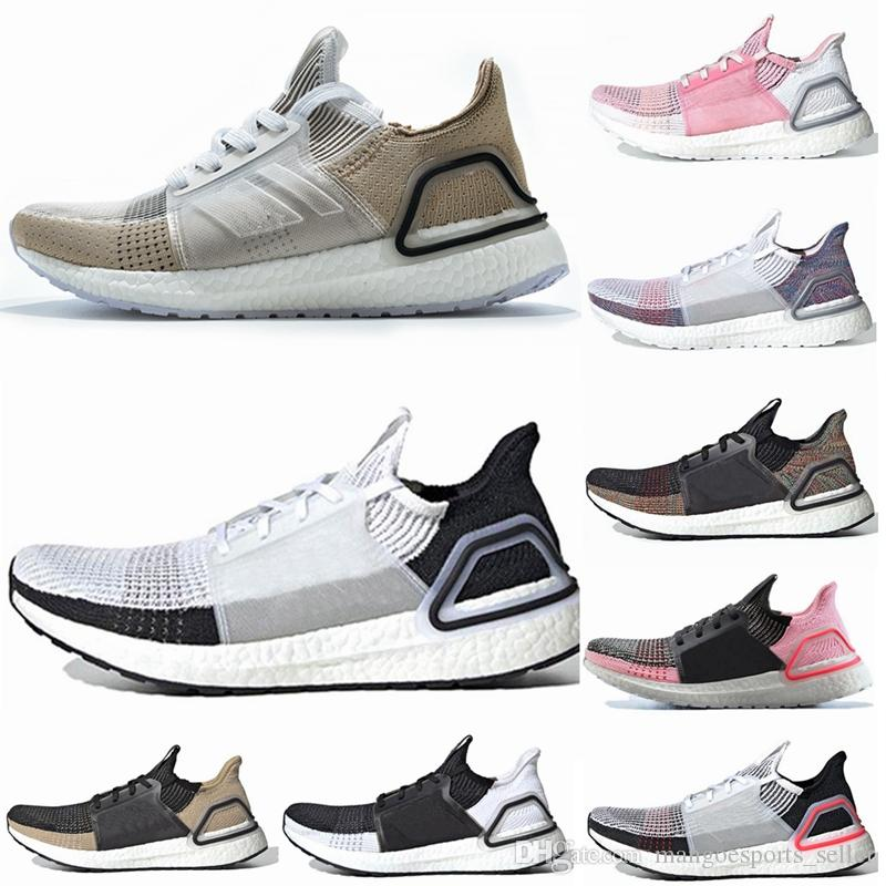 558d8fc769023 2019 Ultra Boost 19 Mens Women Running Shoes Ultraboost 5.0 Laser Red Dark  Pixel Core Black Ultraboost 19 Designer Sport Sneakers Trainers Shoes Woman  ...