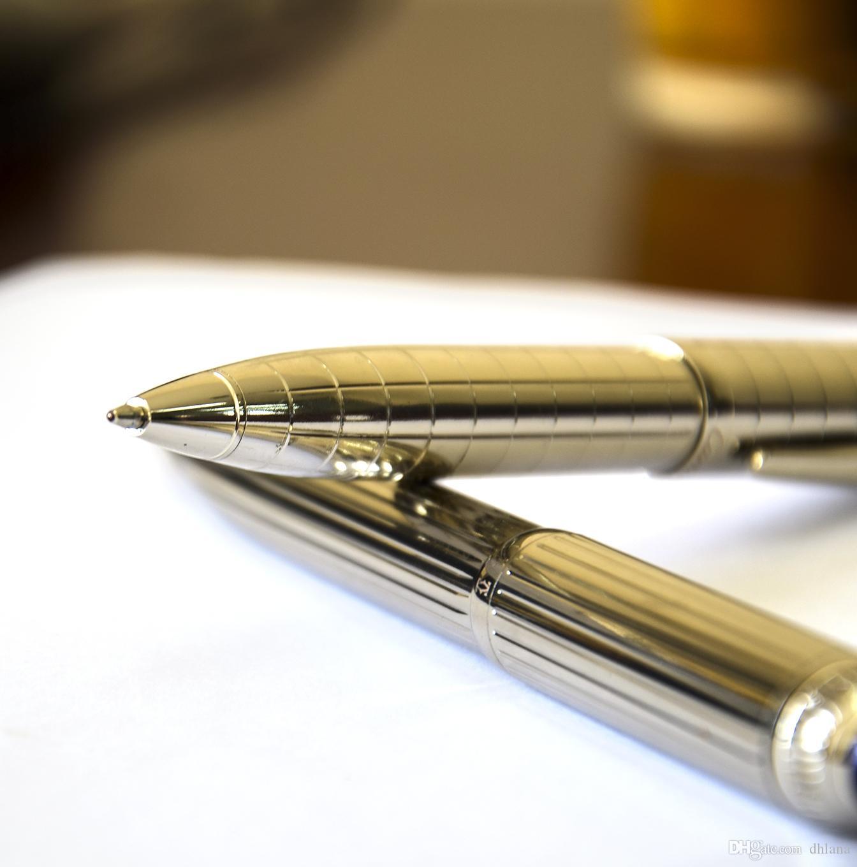 Бесплатная доставка Лучший Qualtiy Супер Качество M Ручка шариковая ручка SW-All Metal школа металлические ручки оборудование Канцтовары продвижение good7