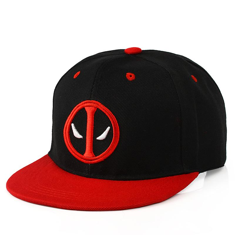 7d205ce42e83ac Unisex Deadpool Embroidery Baseball Caps Fashion Men Women Funny Marvel Hat  Adjustable Snapback Casquette Hockey Caps Mens Hats Baseball Cap From  Arrowhead, ...